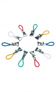 Clips porte-torchons, lot de 10