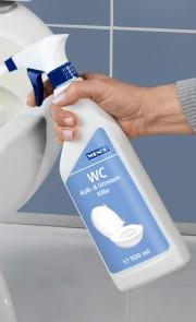 Nettoyant WC pour le calcaire et les dépôts d'urine