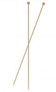Stricknadel Paar Bambus