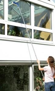 Fensterwischer mit Teleskop