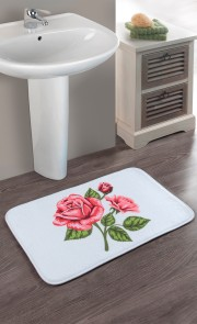 Tapis de bain Roses