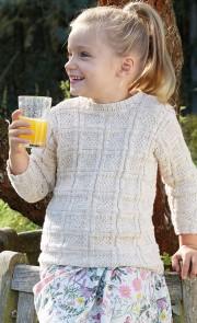Strickanleitung Kinder-Pullover