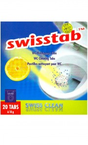 Swisstabs, pastilles WC 20 pièces.