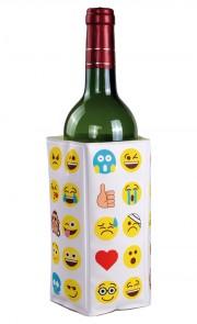 Flaschenkühler mit Geleinlage