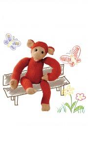 Monkey der Affe