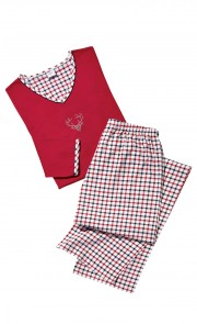 Damen-Pyjama