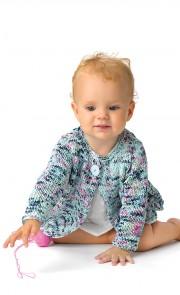 Instructions pour tricoter veste