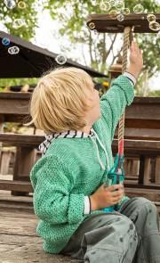 Instructions pour tricoter pull enfant