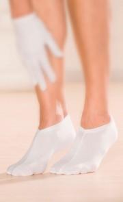 Protège-pieds pour l'application de crème 2 pair