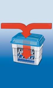 Recharge absorbeur d'humidité 2x2 kg