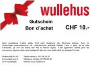 Bon d'achat CHF 10.-